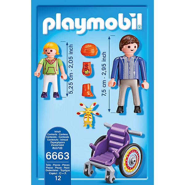 Детская клиника: Ребенок в коляске, PLAYMOBIL