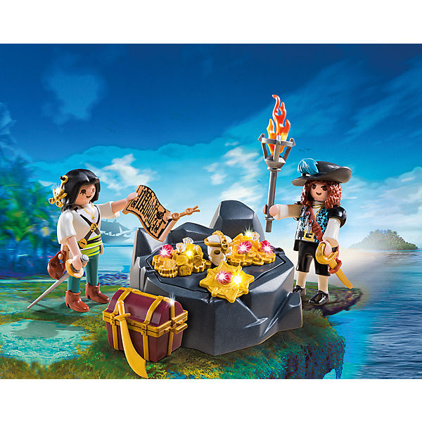 playmobil 6683 piraten schatzversteck playmobil pirates mytoys. Black Bedroom Furniture Sets. Home Design Ideas
