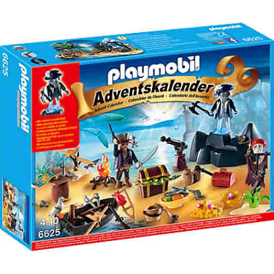 PLAYMOBIL® 6625 Adventskalender Geheimnisvolle Piratenschatzinsel