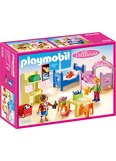 Playmobil 5306 buntes kinderzimmer playmobil mytoys for Kinderzimmer play 01