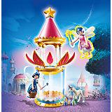 PLAYMOBIL® 6688 Super 4: Zauberhafter Blütenturm mit Feen-Spieluhr und Twinkle