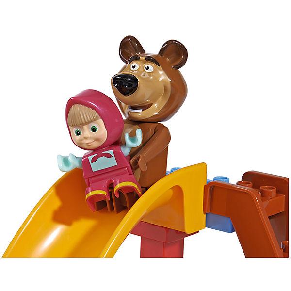 Конструктор Маша и Медведь, Бассейн, 29 деталей, BIG