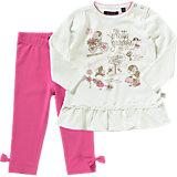 BLUE SEVEN Baby Set Langarmshirt + Leggings für Mädchen