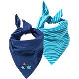 KIDIVIO Baby Dreieckstuch Doppelpack für Jungen