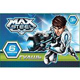 Гуашь (6 цветов), Max Steel