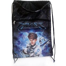 Сине-серый мешок для обуви, Max Steel