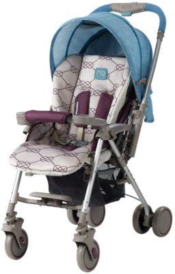 Прогулочная коляска Desire, Happy Baby, голубой