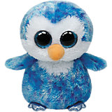 "Мягкая игрушка ""Пингвин Ice Cube, 25 см"", Beanie Boo's, Ty"