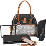 Wickeltache Style Bag, schwarz