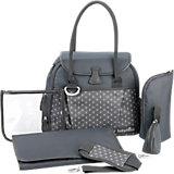 Wickeltache Style Bag, zink
