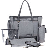 Wickeltache Essential Bag, grau meliert