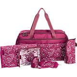Wickeltasche Traveller Bag, kirsche
