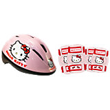 Hello Kitty Fahrradhelm & Protektoren