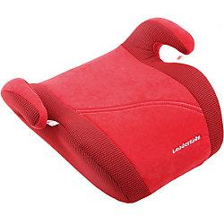 Автокресло-бустер 22-36 кг., Leader Kids, красный велюр