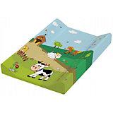 Доска для пеленания Весёлая ферма, OKT, зеленый