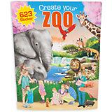 """Альбом с наклейками """"Zoo"""", Creative Studio"""