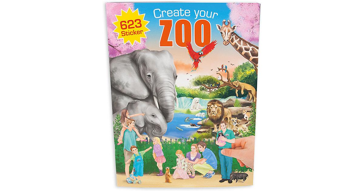 Kreativset Create your ZOO mit Stickern