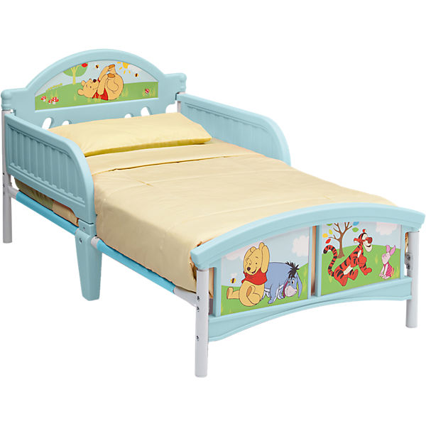 kinderbett winnie the pooh 70 x 140 cm disney winnie. Black Bedroom Furniture Sets. Home Design Ideas