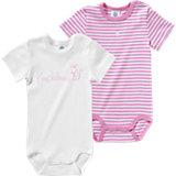 SANETTA Baby Body Doppelpack für Mädchen Organic Cotton