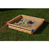 Sandkasten Natur 115 cm x 115 cm