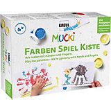 Mucki Kreativset Wir malen mit Händen und Fingern