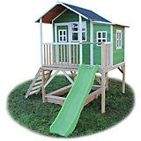 Spielhaus Loft Grün
