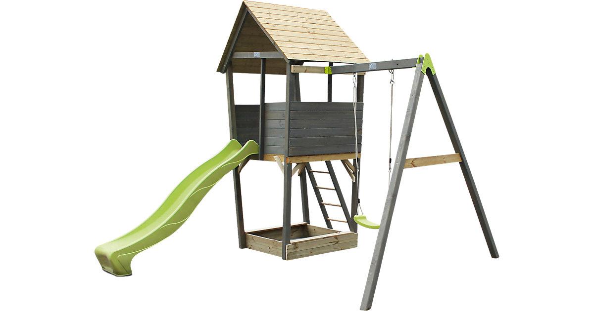 Spielturm mit Einzelschaukel Aksent