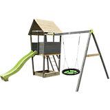 Spielturm mit Nestschaukel Aksent