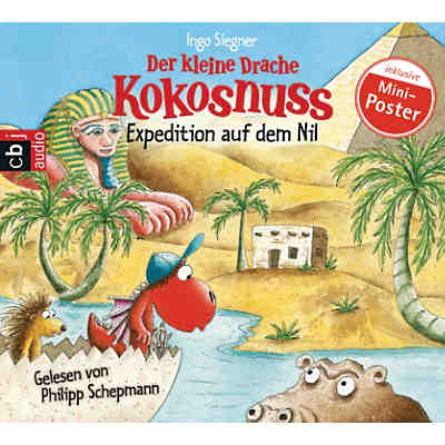 Der kleine Drache Kokosnuss: Expedition auf dem Nil, 1 Audio-CD