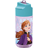 Trinkflasche transparent Die Eiskönigin, 450 ml