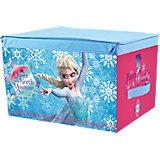 Aufbewahrungsbox Die Eiskönigin blau