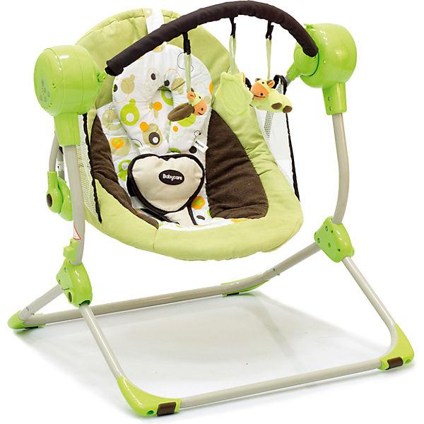 Кресло-качели Balancelle, Baby Care, зеленый