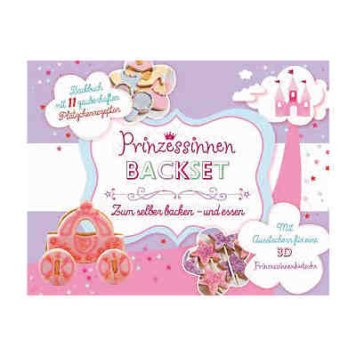 Prinzessinnen Backset, mit Ausstecher