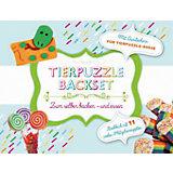 Tierpuzzle Backset, mit Ausstecher