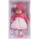 Кукла Памела в красном, 37 см, Munecas Antonio Juan