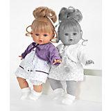 Кукла Леонора в фиолетовом, 33 см, Munecas Antonio Juan