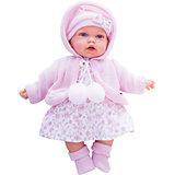 Кукла Азалия в розовом, 27 см, Munecas Antonio Juan