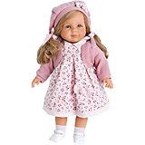 Кукла Анита в розовом, 55 см, Munecas Antonio Juan