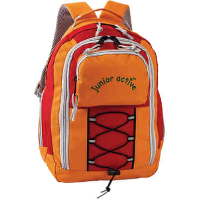 Kinderrucksack junior active orange/rot