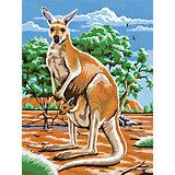 Malen nach Zahlen ab 8 Känguruh