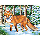 Malen nach Zahlen ab 8 Fuchs