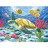 Malen nach Zahlen ab 8 Seeschildkröte