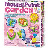 Gießset Magnete & Anstecker Mould & Paint Garten