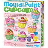 Gießset Magnete & Anstecker Mould & Paint Cupcake