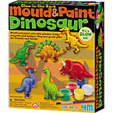 Gießset Magnete & Anstecker Mould & Paint Dinosaurier