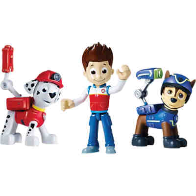 Paw Patrol Action Welpen, 3 Figuren