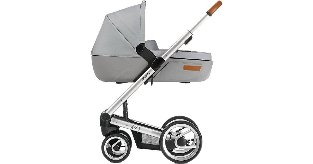 Kombi-Kinderwagen Igo, urban nomad off white, Gestell silver