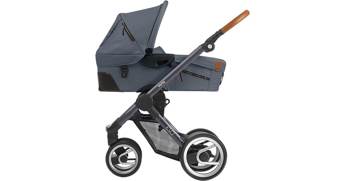 Kombi-Kinderwagen Evo, industrial grey, Gestell darkgrey