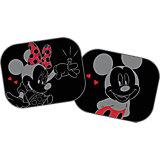 Sonnenschutz für die Seitenscheibe, Mickey Mouse & Minnie Mouse, 2er-Set
