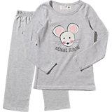 ADELHEID Schlafanzug Süße Maus für Mädchen
